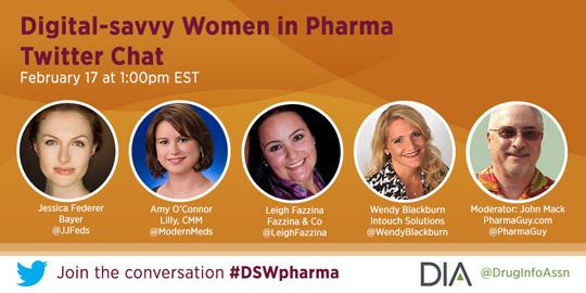 Digital-savvy Women in Pharma Twitter Chat