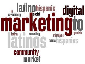 Hispanic Marketing Word Cloud