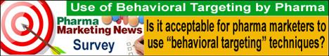 Use of Behavioral Targeting by Pharma