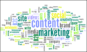 Content Marketing Word Cloud