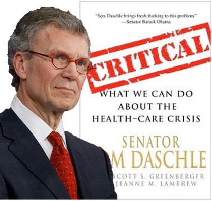 Daschle Book Cover