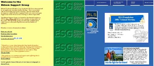 Ekbom vs. RLS