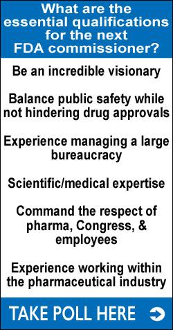 FDA Commish Contenders