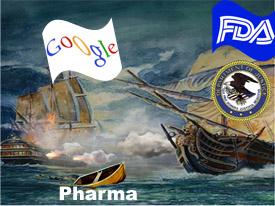FDA, DOJ v. Google