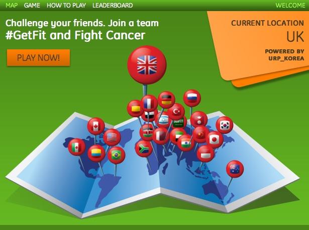 #GetFit Game Screen