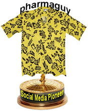 The Pharmaguy Social Media Pioneer Award