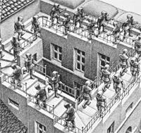 MC Escher Steps