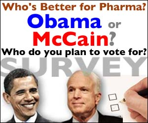 Who's Better for Pharma: Obama or McCain?