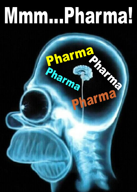 Pharma on Homer's Brain