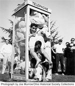 Stuffed Phone Booth