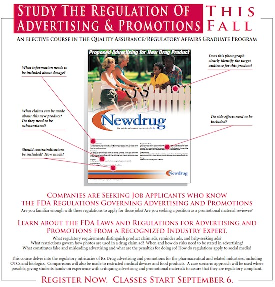 Advertising and Promotions Course Ad