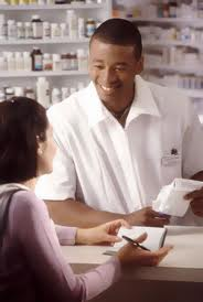 Pharmacist Counseling Patient
