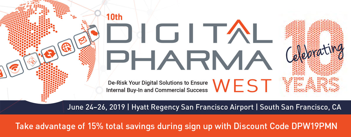 10th Digital Pharma West, June 24–26, San Francisco - Pharma